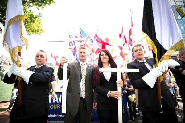 El líder de Britain First, Paul Golding.