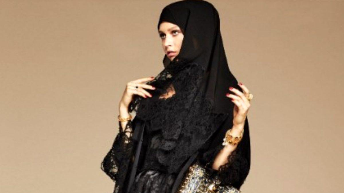 Uno de los velos y túnicas pertenecientes a la nueva colección de Dolce & Gabban. (Fuente: Dolce & Gabbana).