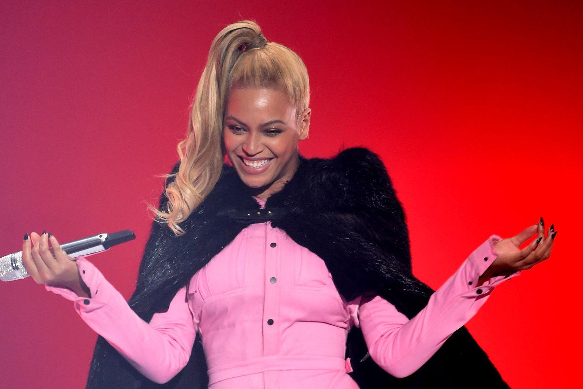 Imagen de una de las actuaciones de la cantante Beyoncé. (Foto: Getty)