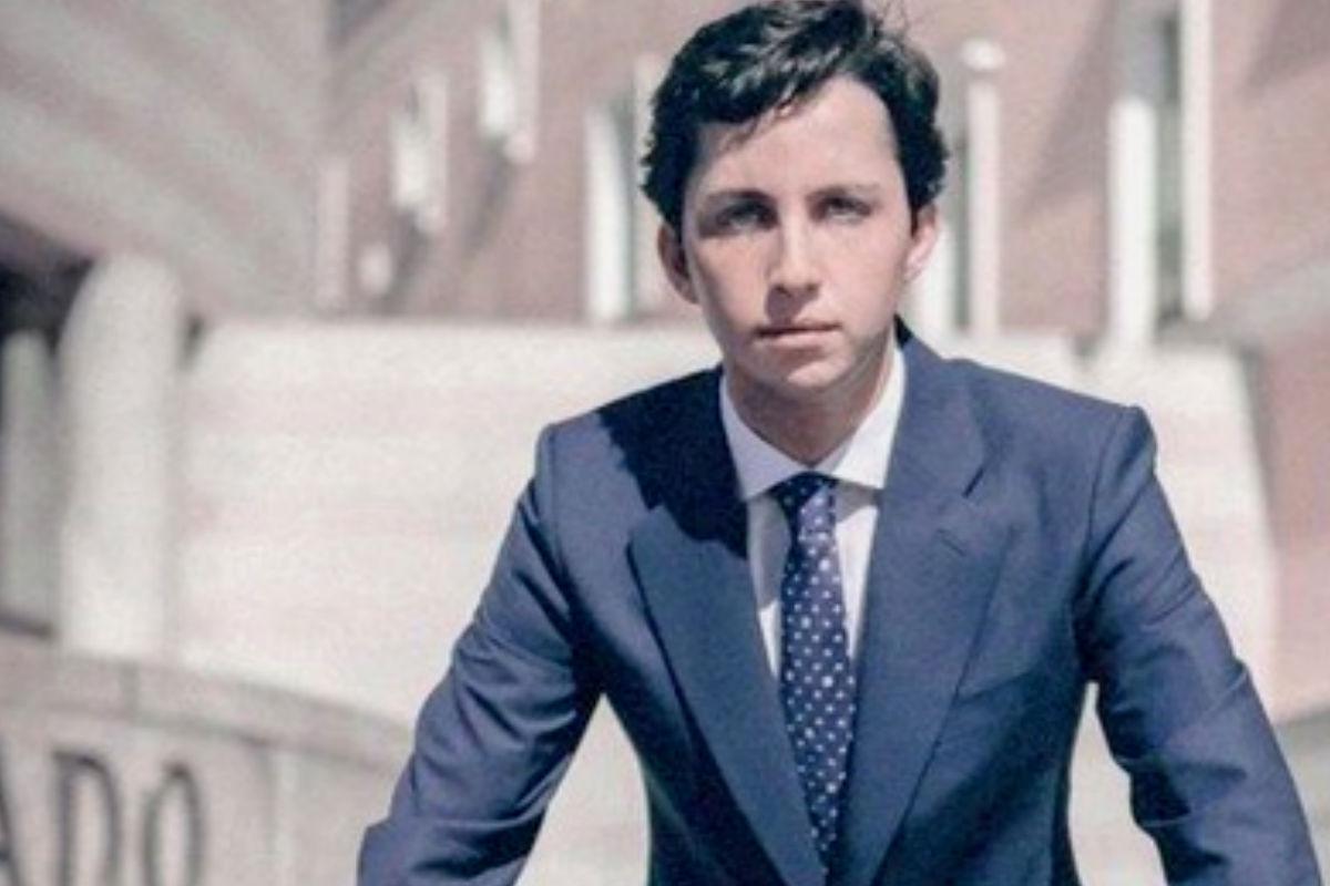 Imagen que el pequeño Francisco Nicolás empleó para su candidatura al Senado.