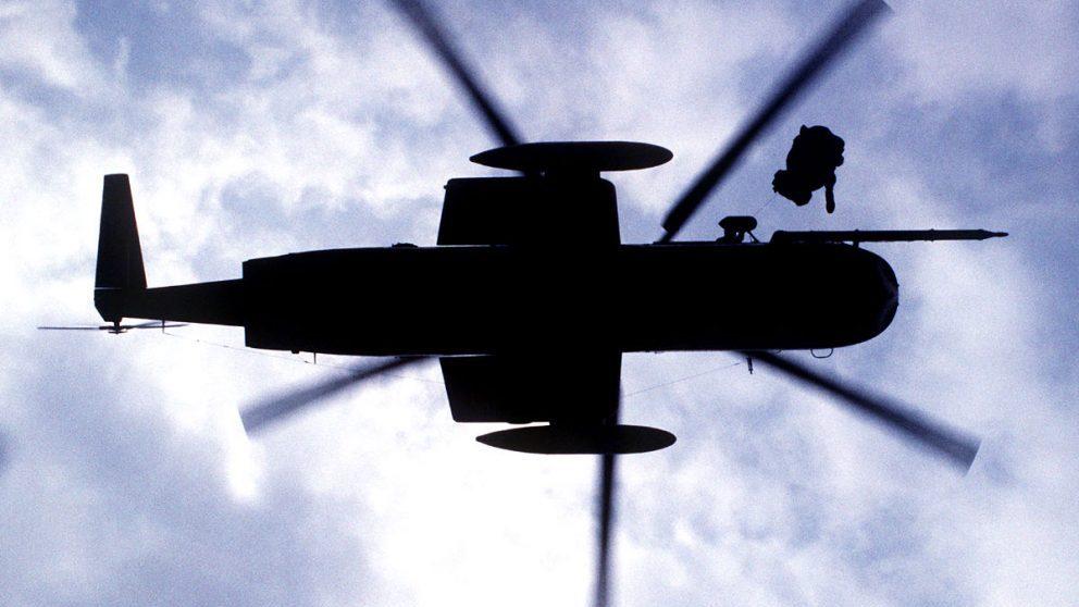 Imagen de un helicóptero militar. (Foto: Getty)