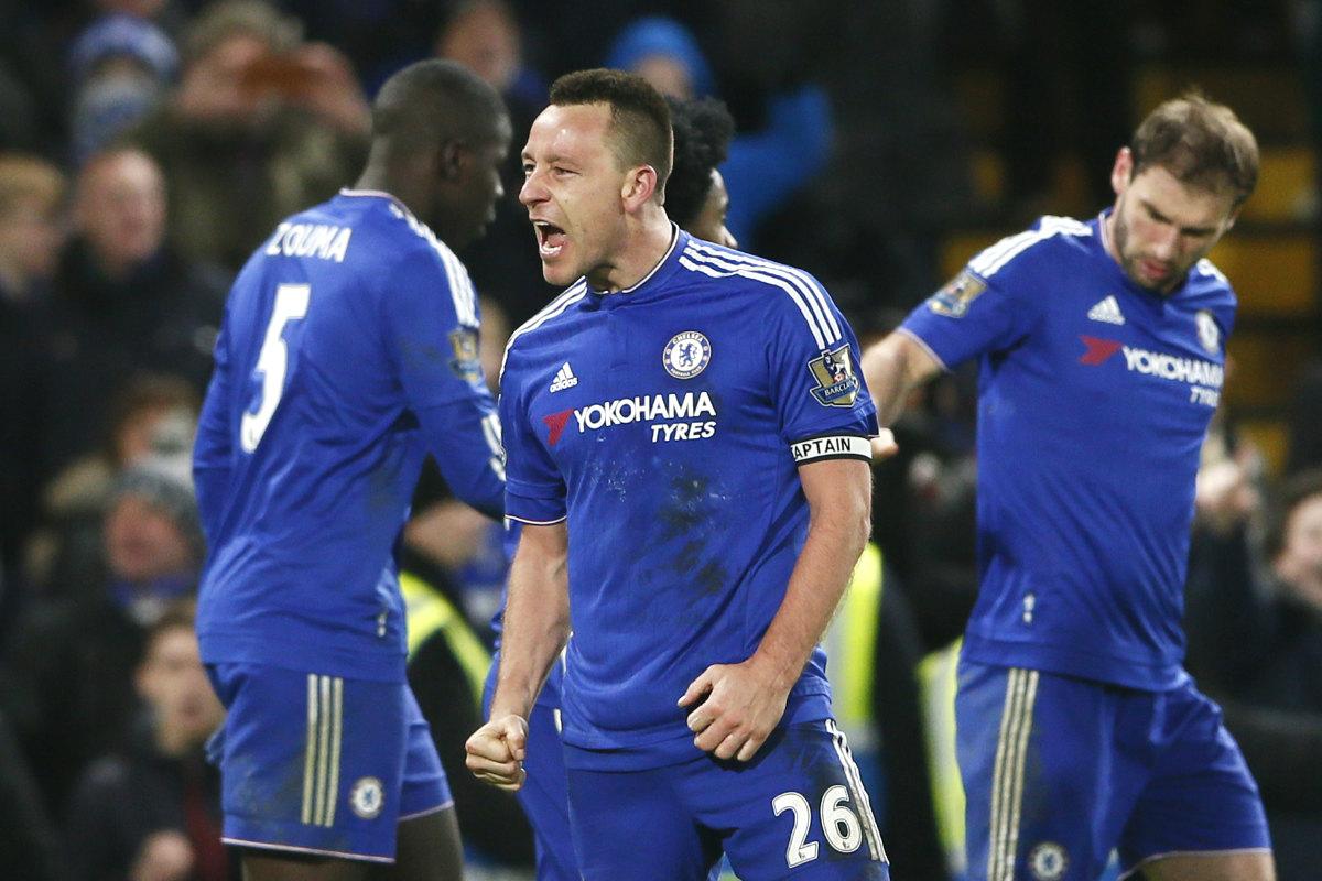 Terry marcó el gol del empate en el 98. (Reuters)