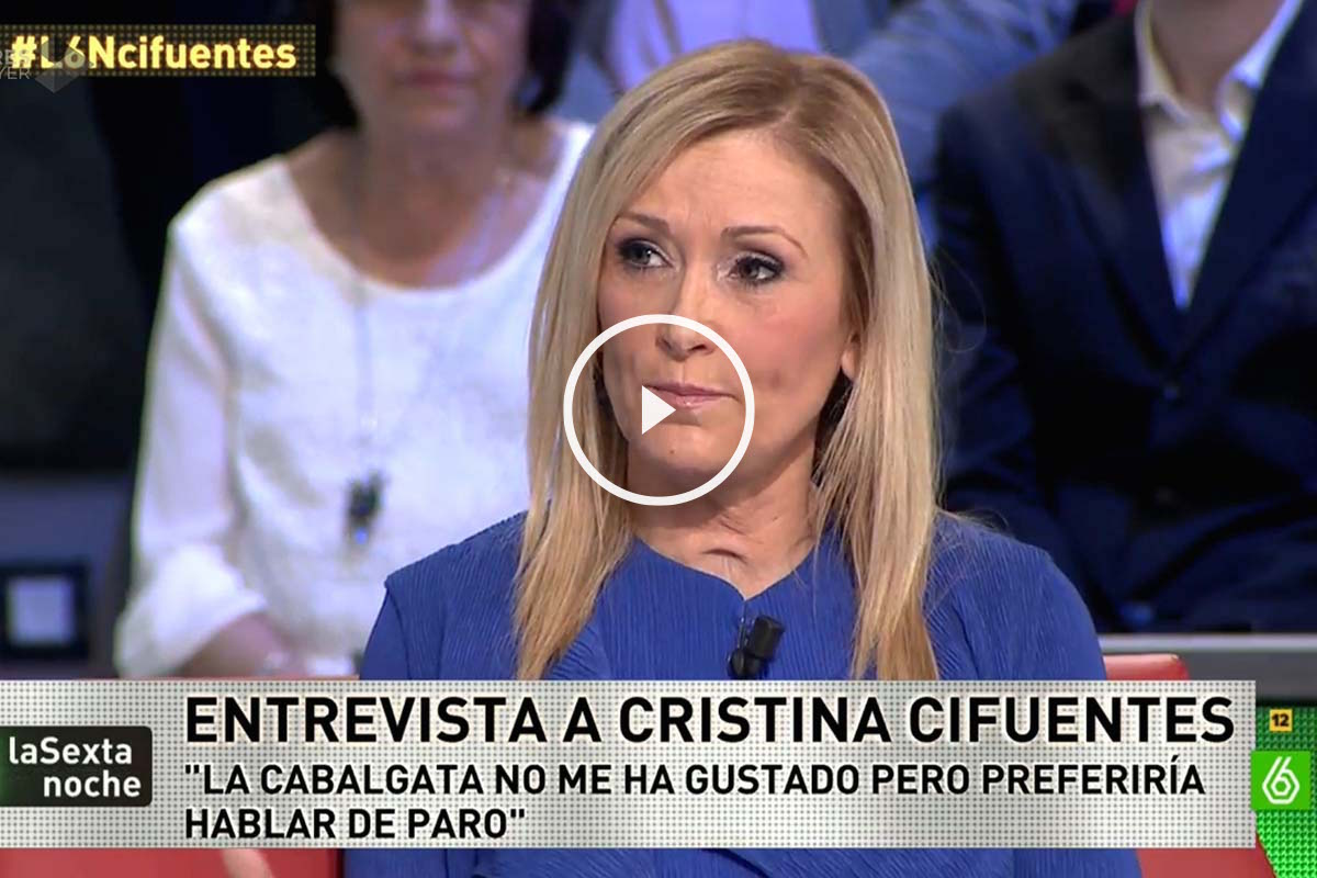 """Cristina Cifuentes: """"El Ayuntamiento debe ocuparse de limpiar la ciudad y no molestar con la cabalgata"""""""