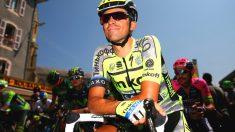 Alberto Contador, en una salida la pasada temporada en el Tour de Francia.