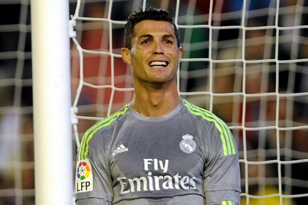 Cristiano Ronaldo no atraviesa un buen momento. (AFP)
