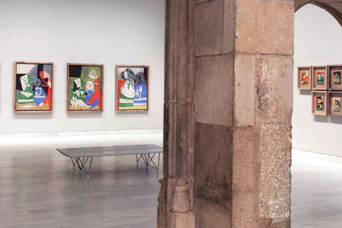 Imagen de una de las salas del Museo Picasso de Barcelona.