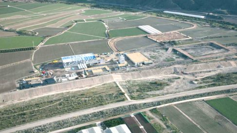 Desaladora de Almanzora (Foto: ACUAMED).