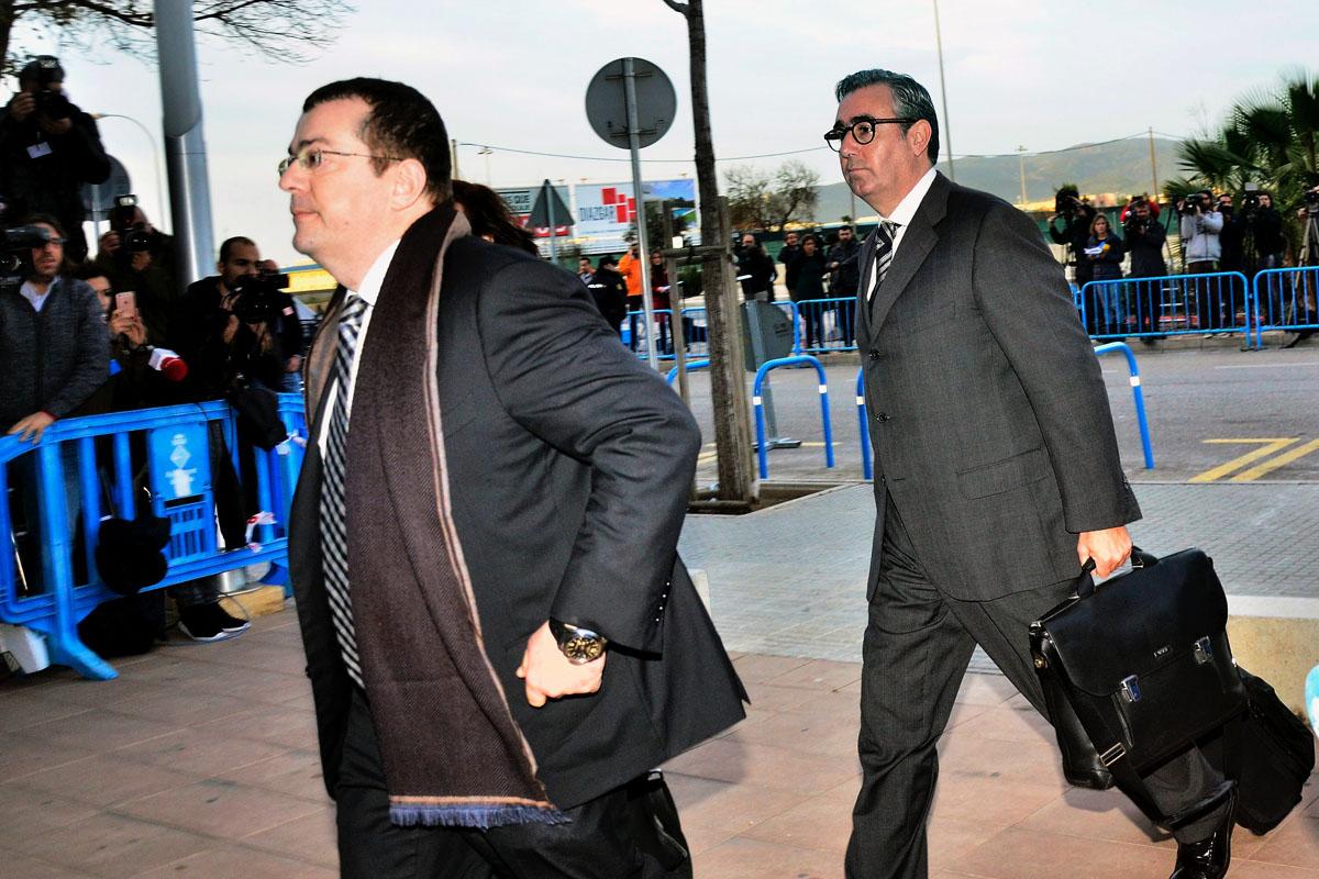 Diego Torres, a su entrada al tribunal. (Foto: EFE)