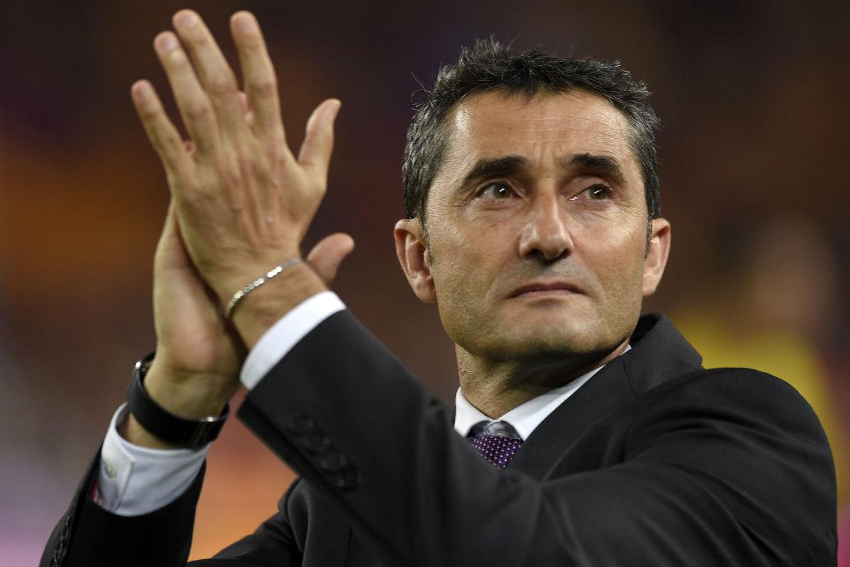 Ernesto Valverde, nuevo entrenador del Barça. (AFP)