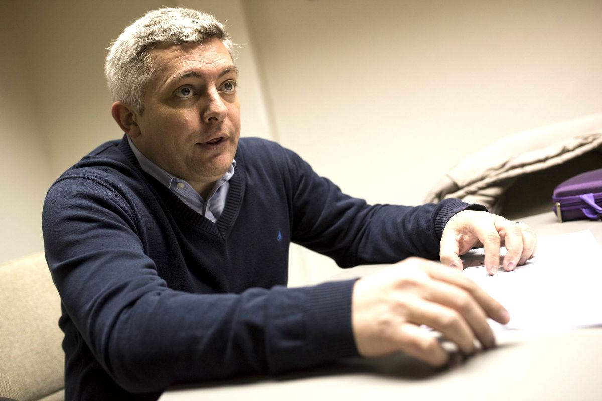 El investigador Javier Escudero (Foto: Efe).