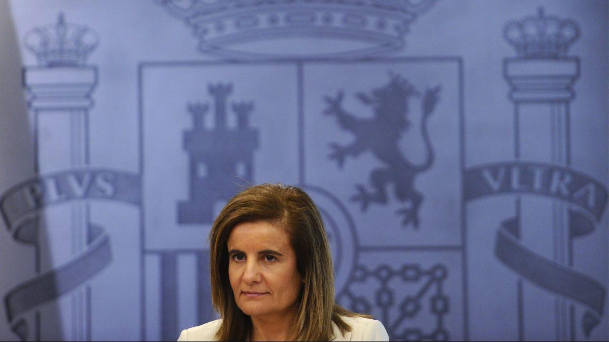 Fátima Báñez, ministra de Empleo y Seguridad Social. (Foto: AFP)