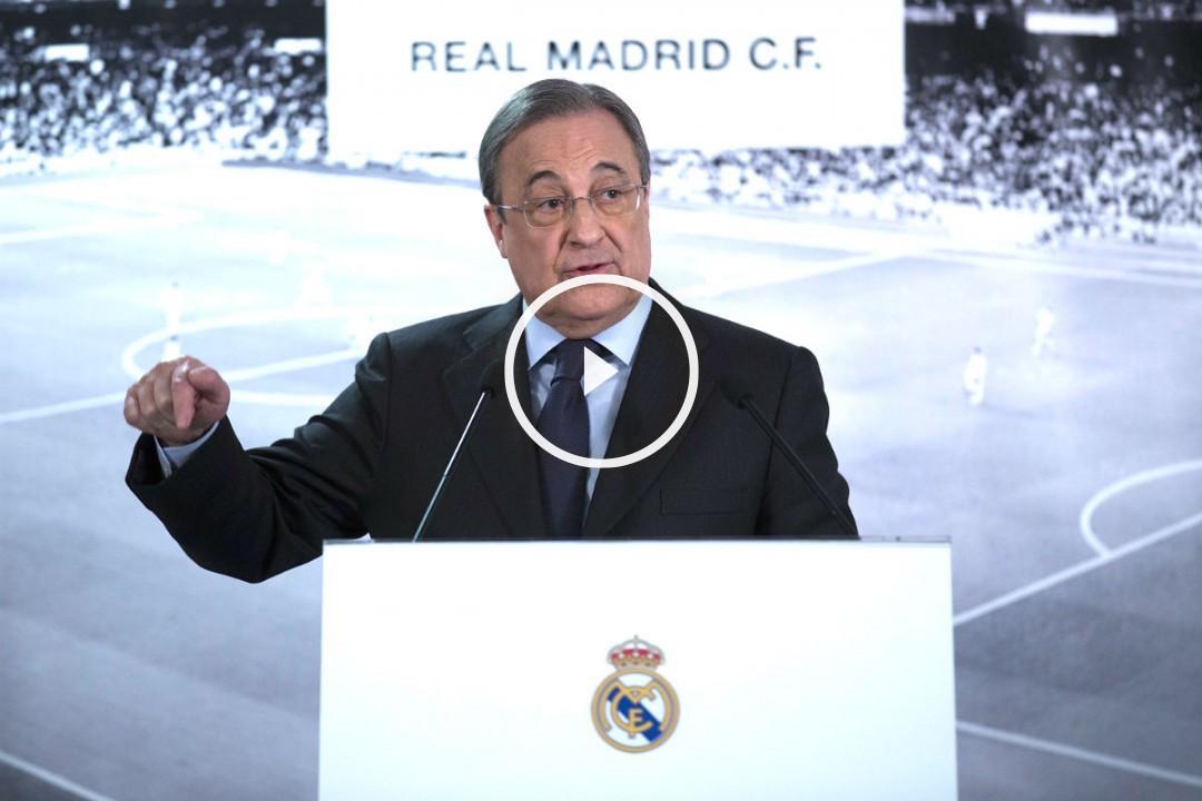 Florentino anunció la destitución de Benítez. (Reuters)