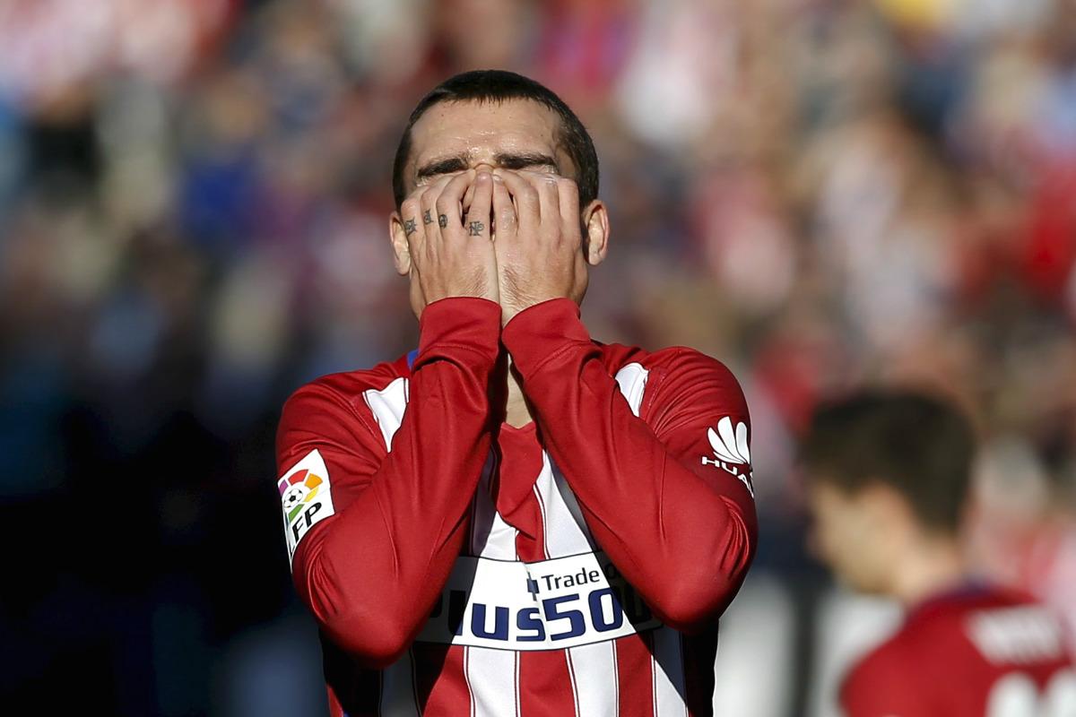 Griezmann fue el mejor del Atlético. (Reuters)