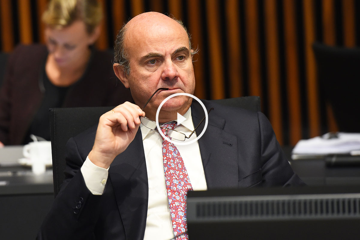Luis de Guindos, ministro de Economía y Competitividad. (Foto: AFP)