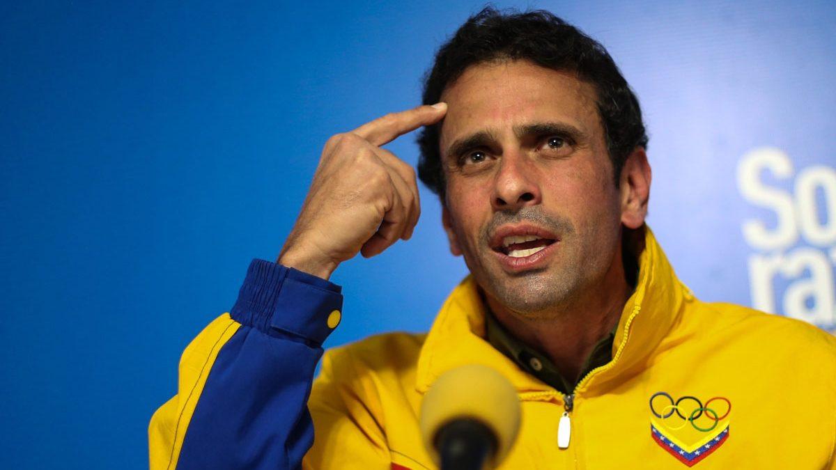 El líder opositor venezolano Henrique Capriles. (Foto: Getty)