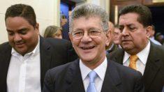 Henry Ramos Allup, presidente de la Asamblea Nacional. (Foto: AFP)