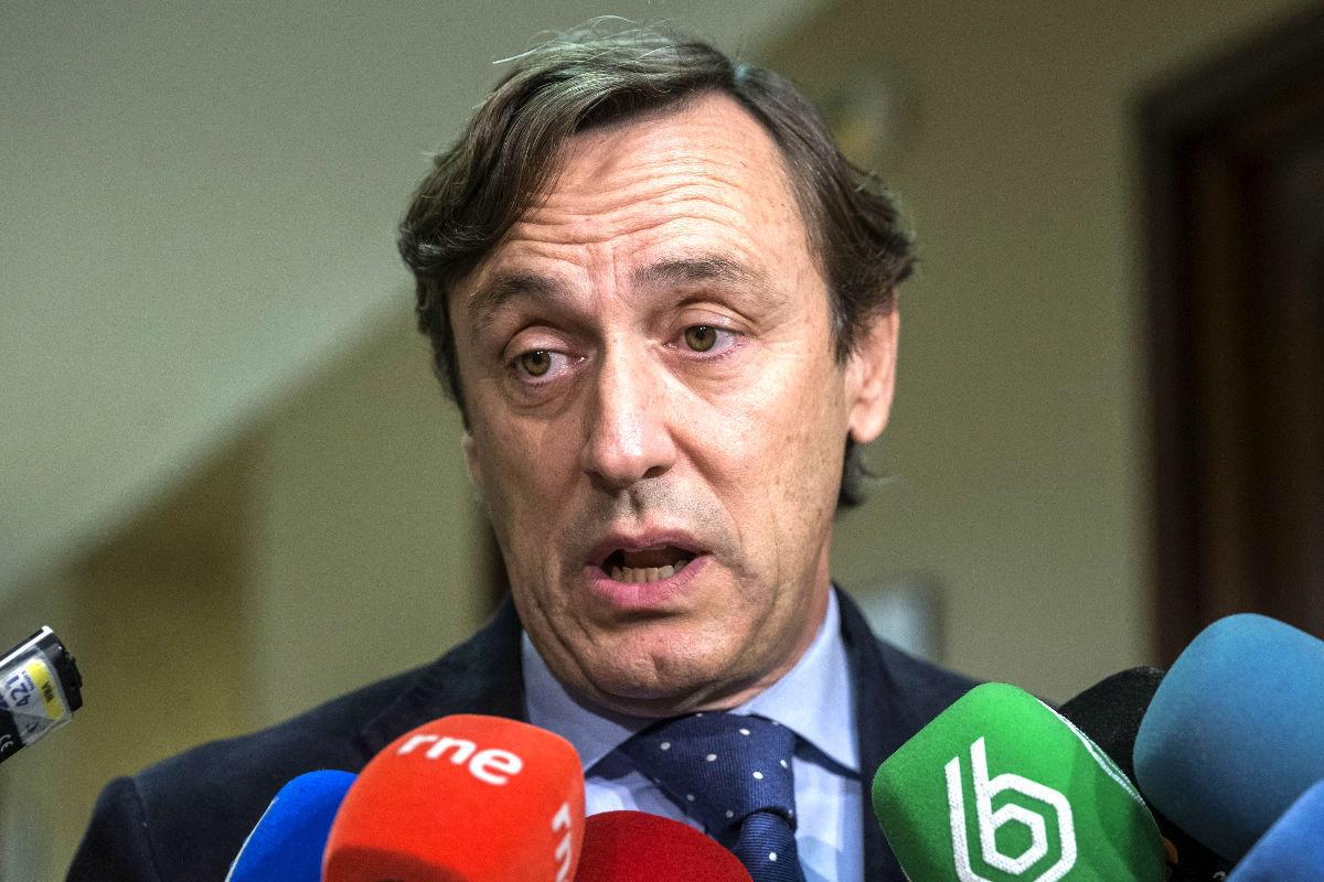 El diputado del PP Rafael Hernando. (Foto: EFE)