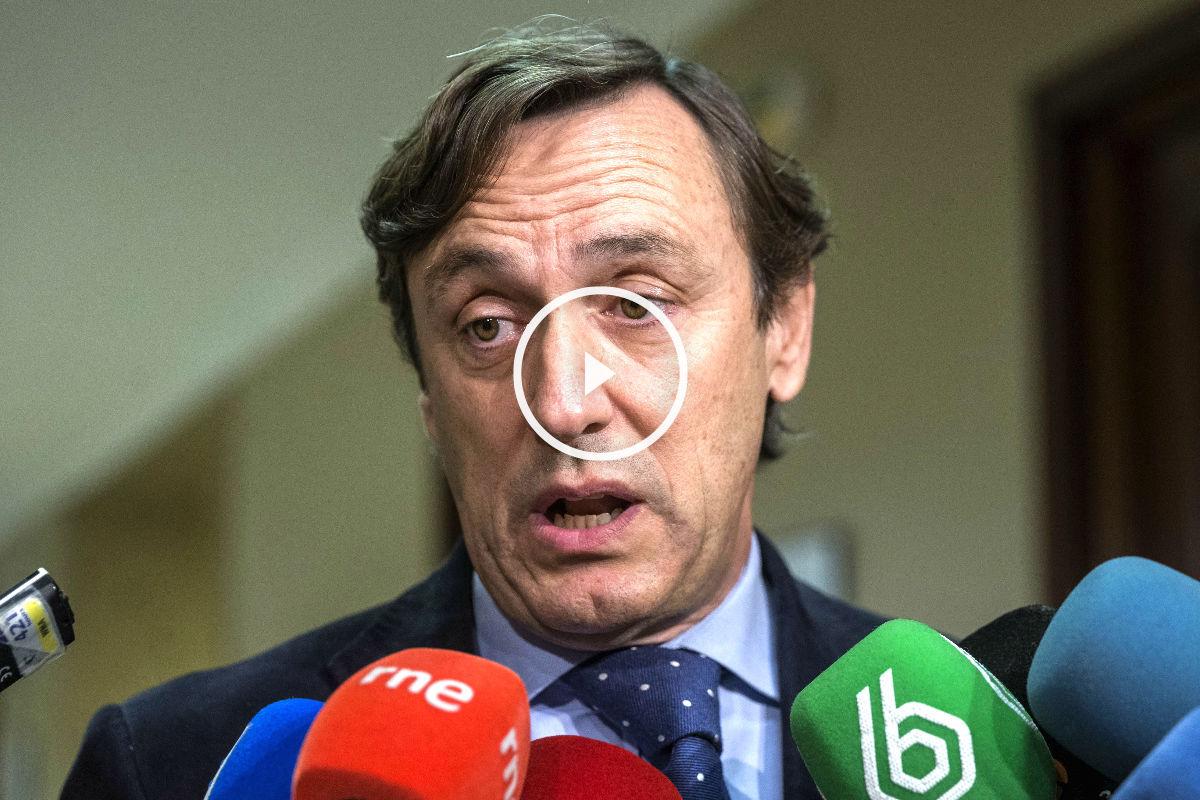 El diputado del PP Rafael Hernando (Foto: Efe).