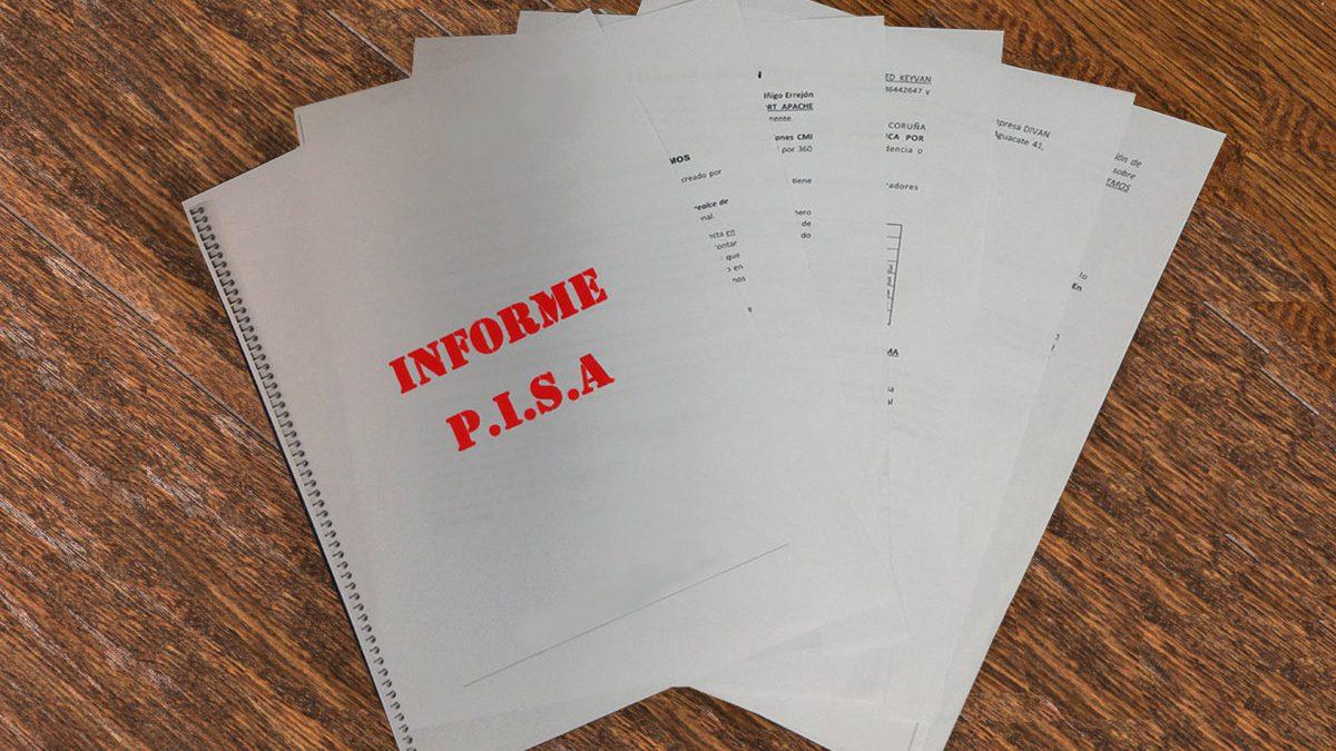 El informe elaborado por la Policía sobre la financiación ilegal de Podemos.
