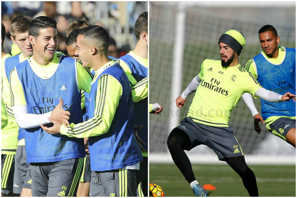 James e Isco pueden ser los gran beneficiados de la llegada de Zidane.