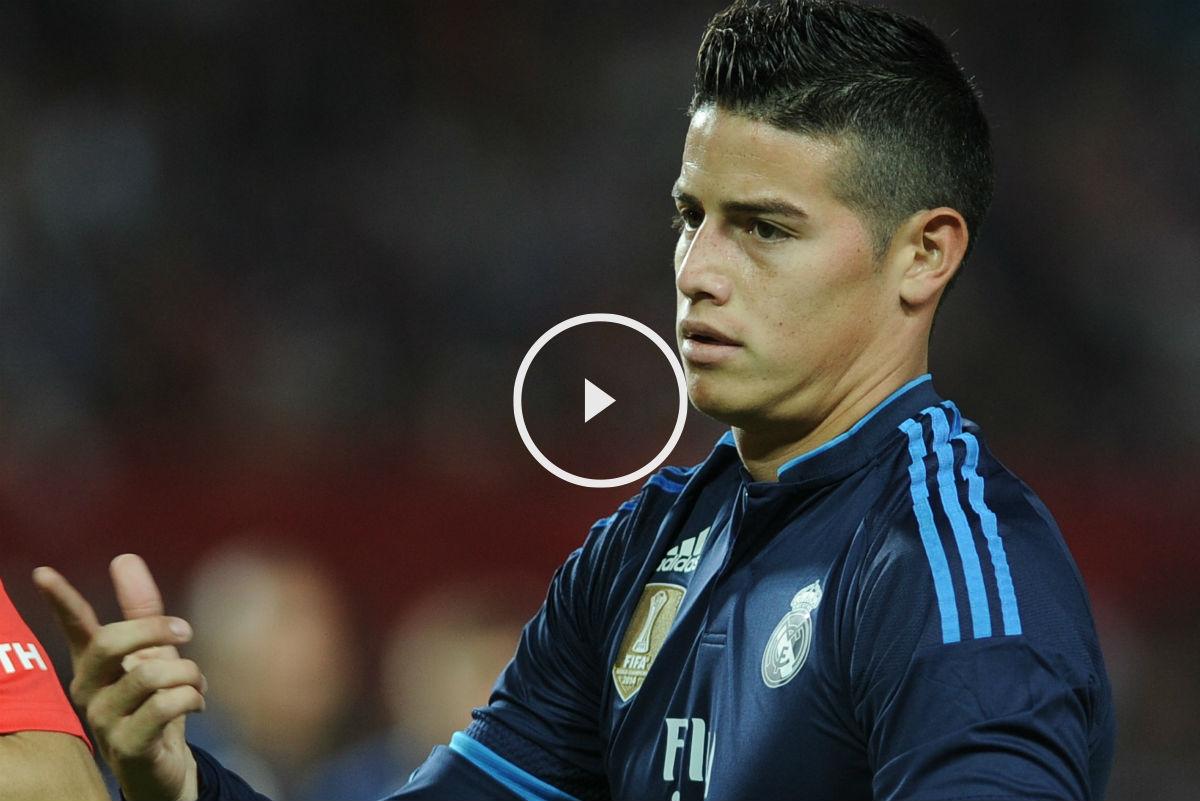 James Rodriguez está peor que la temporada pasada. (AFP)