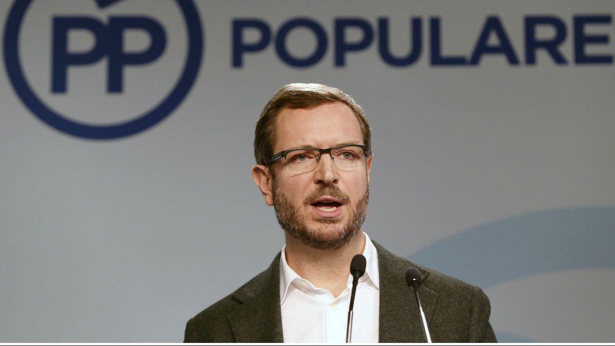 Javier Maroto, vicesecretario de Política Social del PP. (Foto: EFE)
