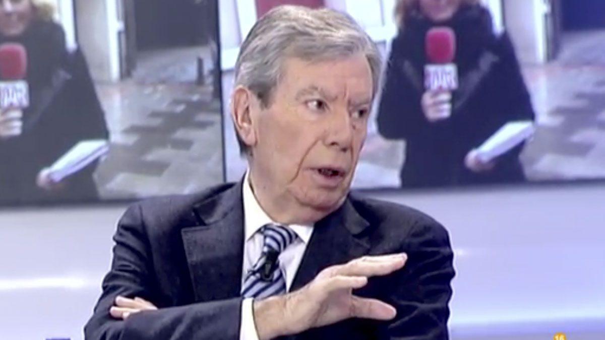 José Luis Corcuera, durante una entrevista.
