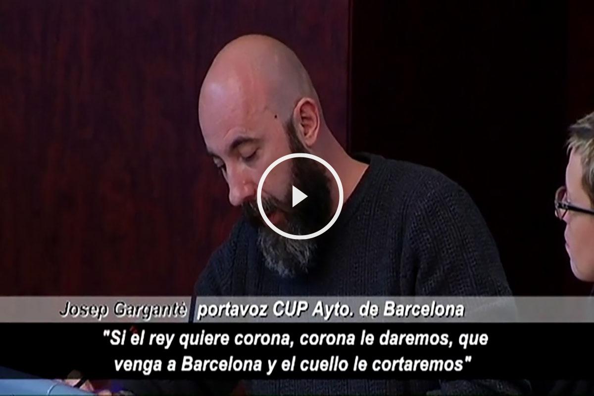 Josep Gargantè, portavoz de la CUP en el Ayuntamiento de Barcelona. (Foto: Atlas)