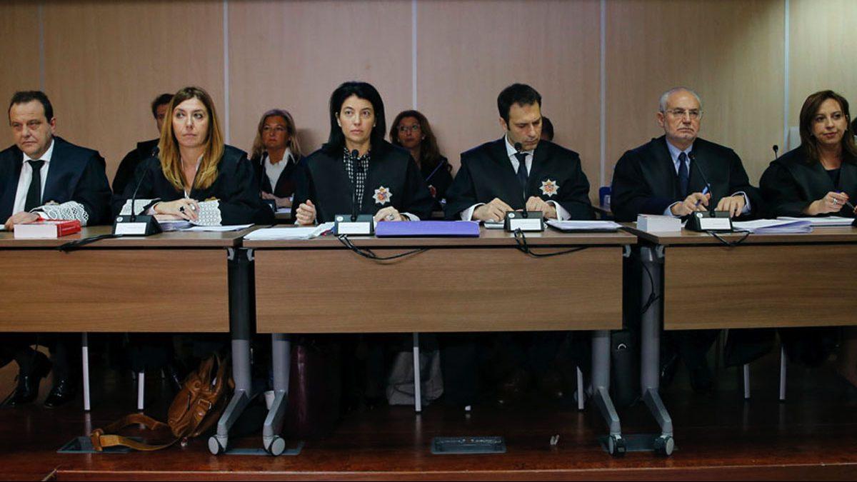 Tribunal del caso Urdangarin. (Foto: EFE)