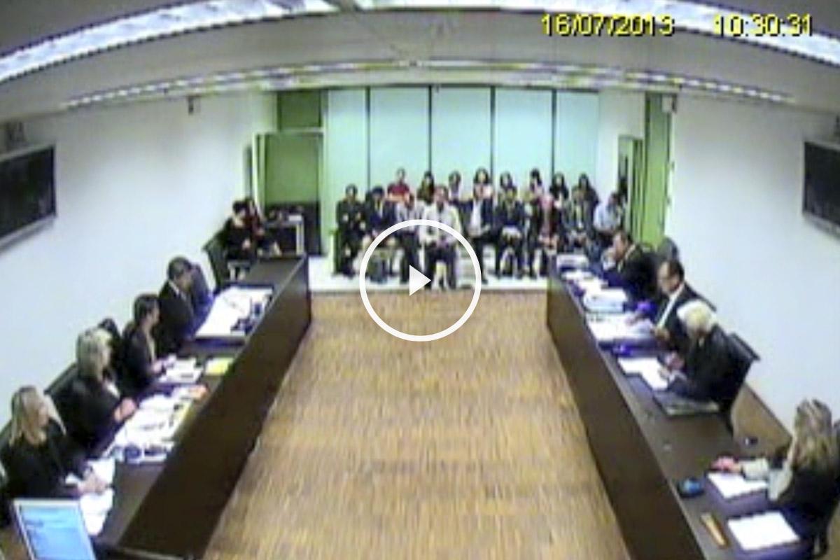 Vídeo de la comparecencia de Iñaki Urdangarin ante la juez