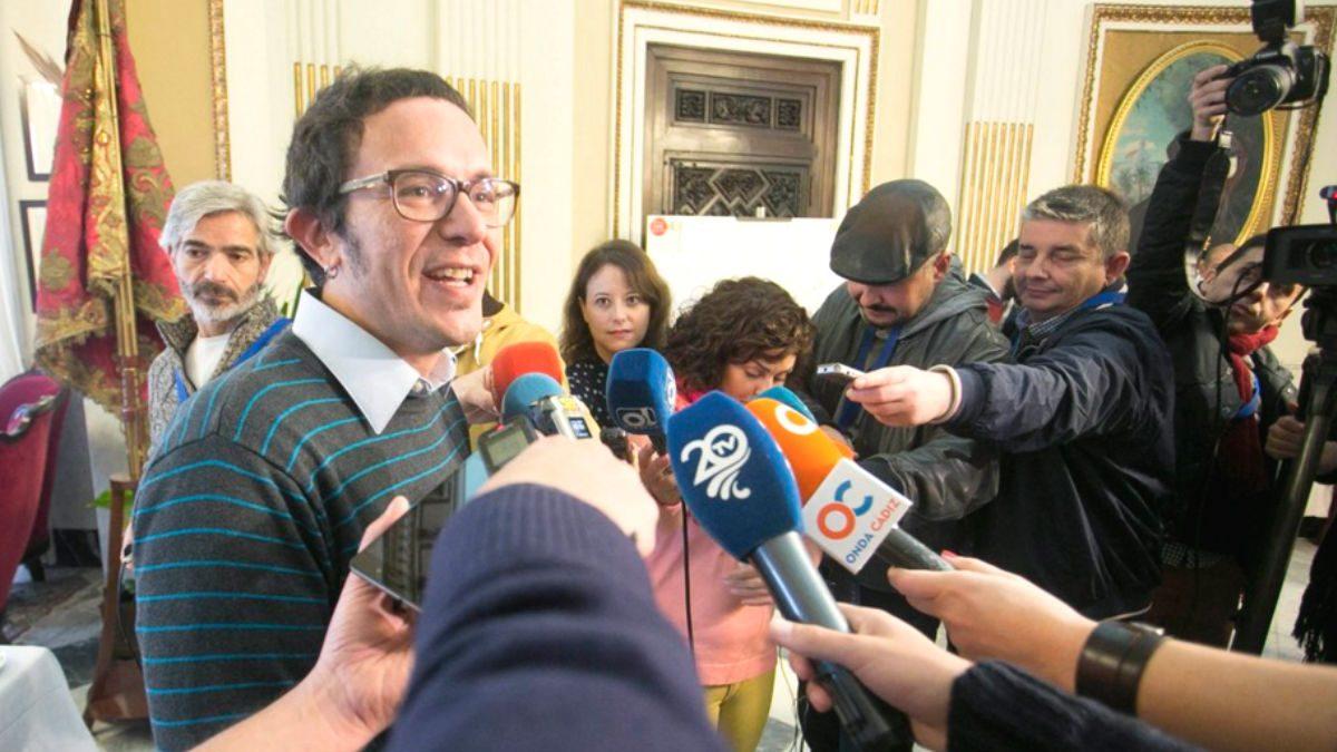 El alcalde de Cádiz, José Maria González 'Kichi' (Foto: Twitter)
