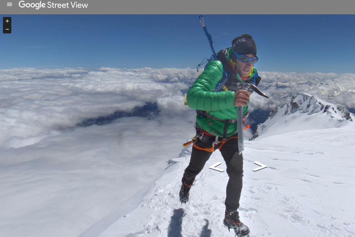 Kilian Jornet en el Mont Blanc.