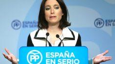 Andrea Levy en una reciente rueda de prensa (Foto: Efe).