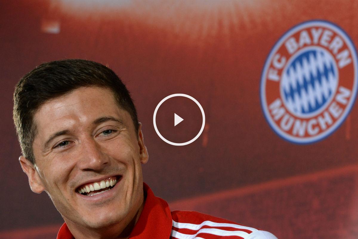 Lewandowski habló de su futuro. (Getty)