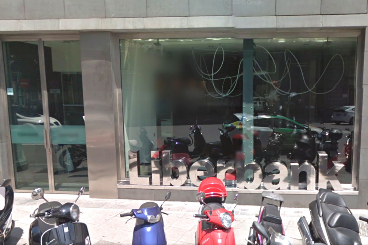 Oficina de Liberbank (Foto: GOOGLE STREET  VIEW).