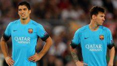 Luis Suárez y Messi no jugarán contra el Athletic. (Getty)