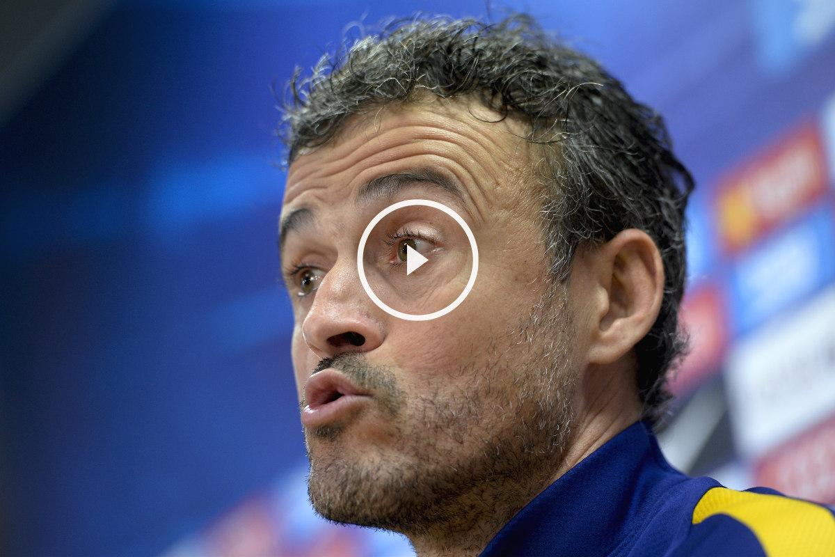 Luis Enrique. (AFP)