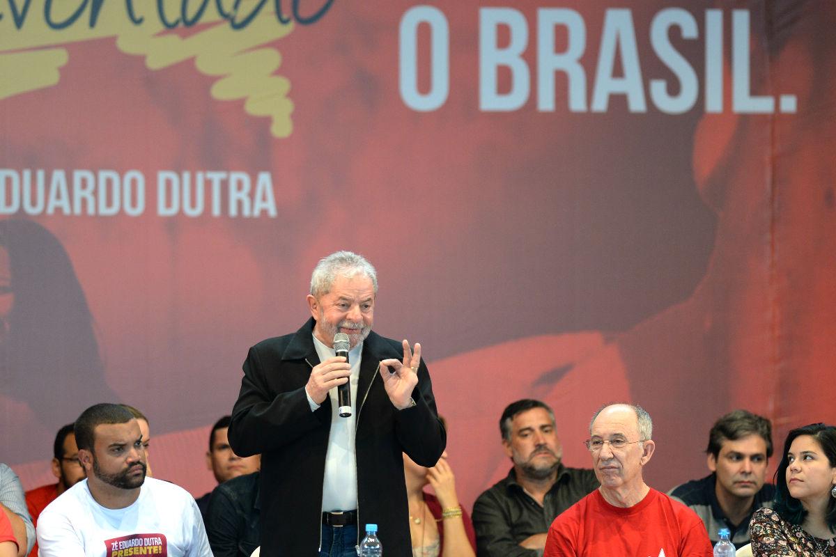 El ex presidente de Brasil Lula da Silva en un acto público (Foto: AFP).