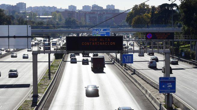 La carretera M-30. (Foto: AFP)
