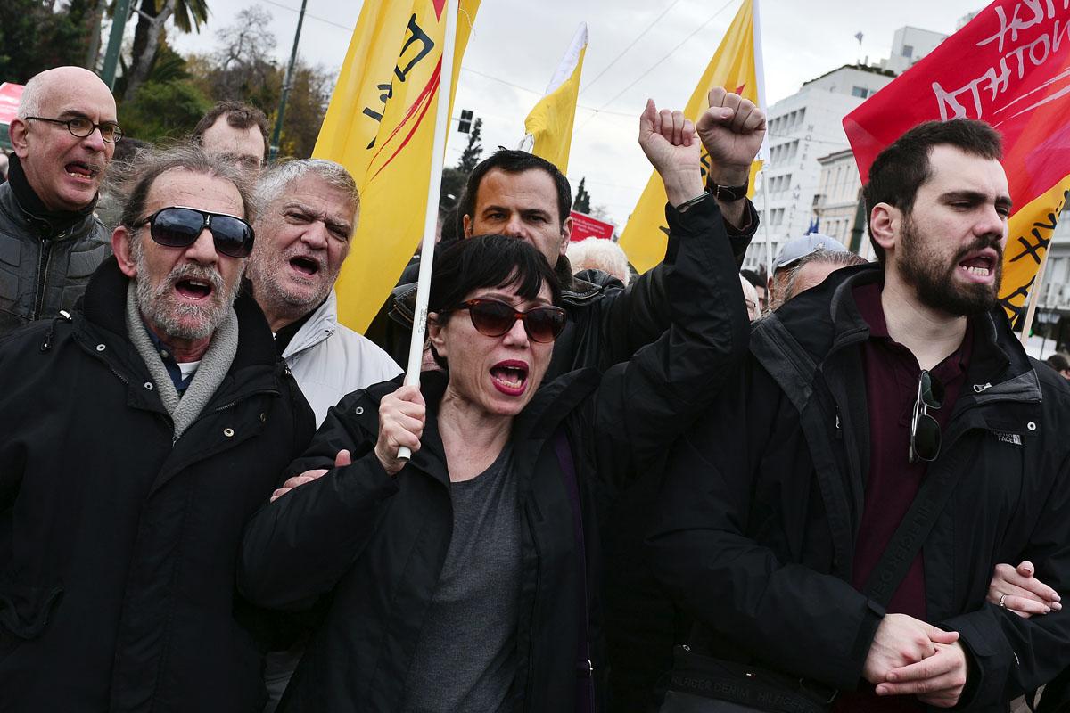 Nueva Democracia supera en estos momentos a Syriza en los sondeos. (Foto: AFP)