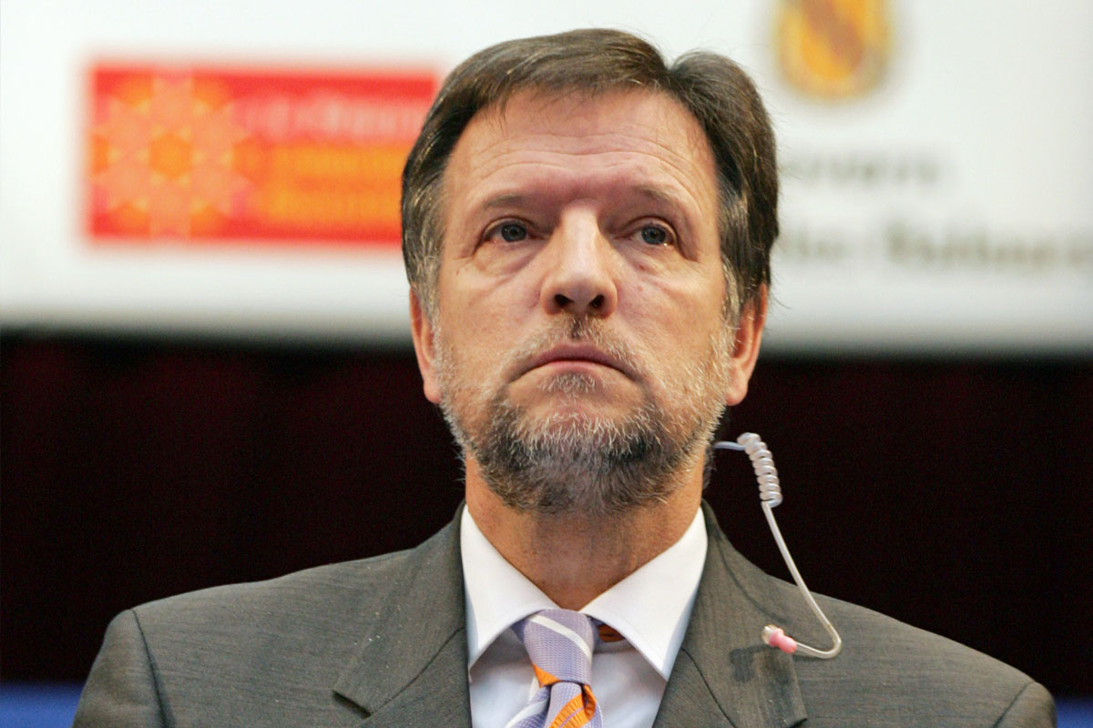 Marcelino Iglesias. (Foto: AFP)