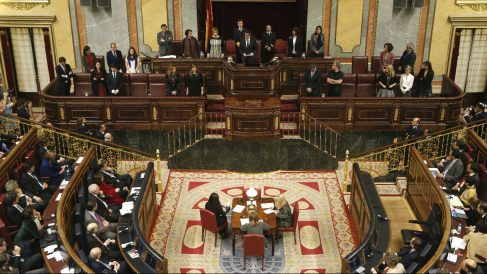 Hemiciclo del Congreso de los Diputados. (Foto: Efe)