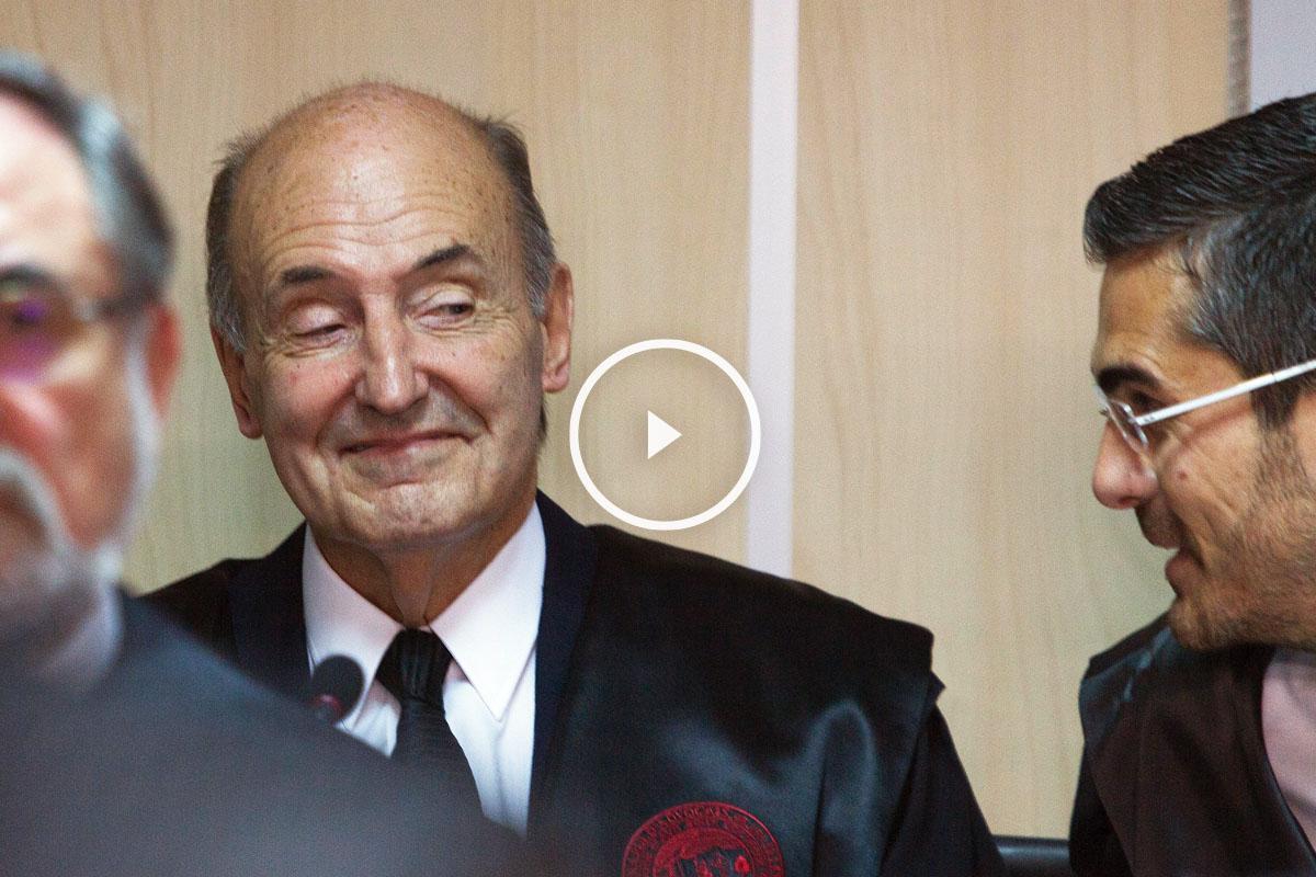 Miquel Roca, abogado de la infanta Cristina. (Foto: AFP)