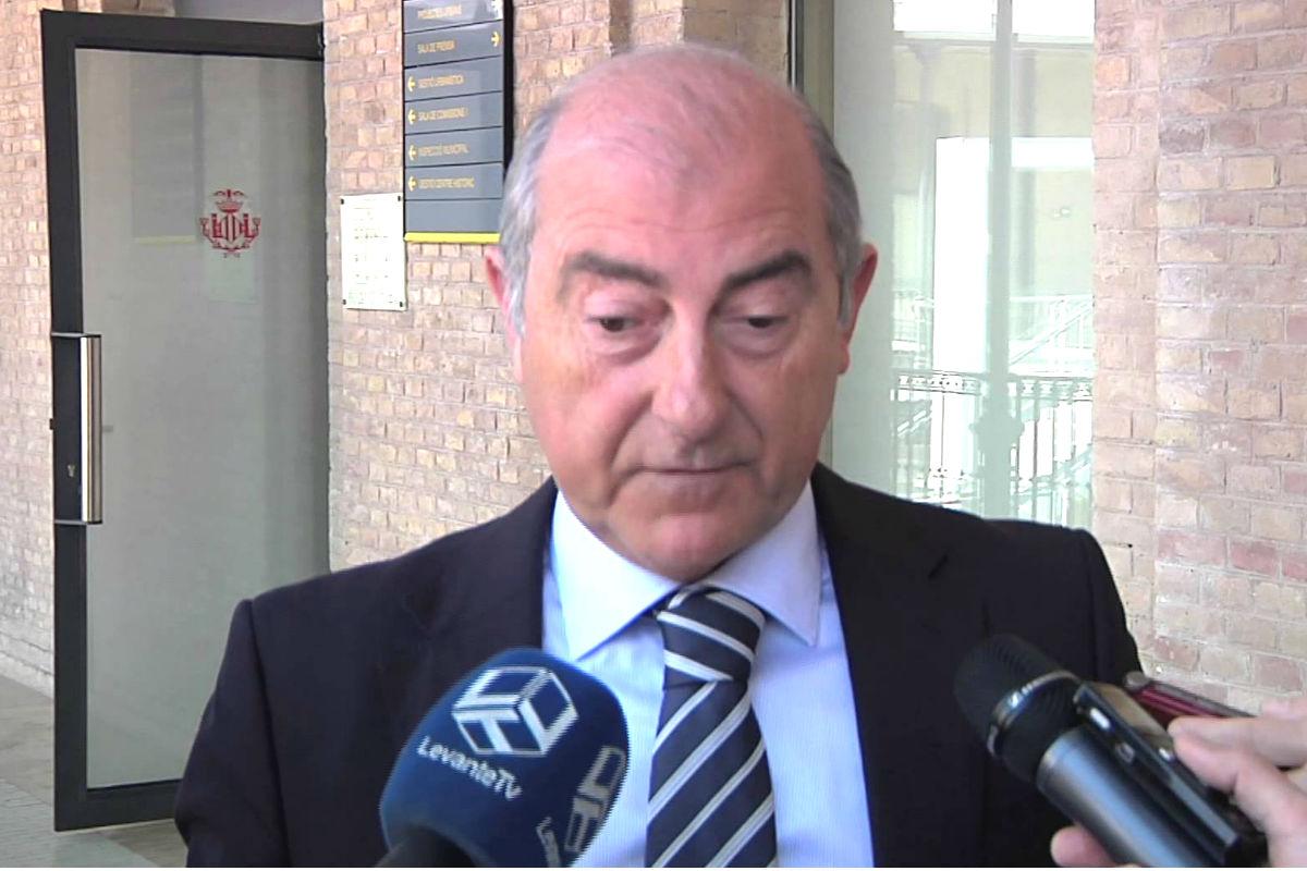 El ex presidente del PP en la ciudad de Valencia, Alfonso Novo. (Foto: EFE)