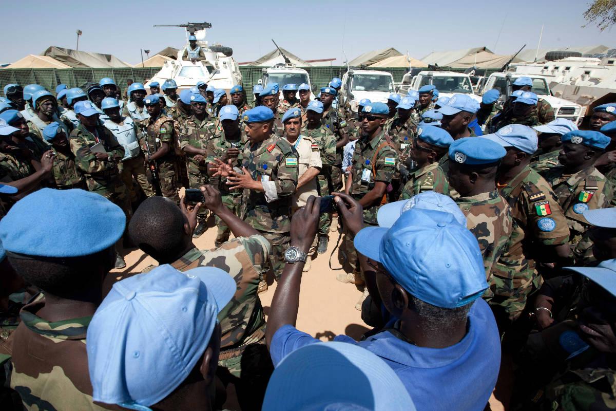 Soldados de la ONU en Africa