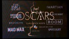 Imagen con las películas nominadas este año (Foto: AFP).