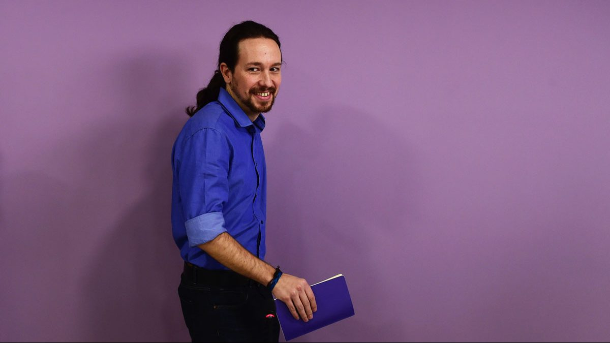 Pablo Iglesias, secretario general de Podemos. (Foto: AFP)