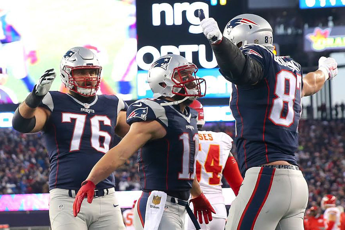Los New England Patriots ganan y avanzan a la Final de Conferencia (Getty)