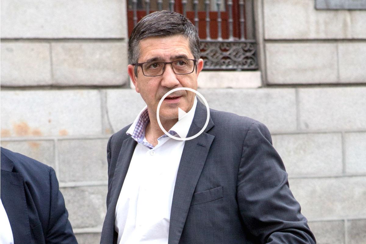 El presidente del Congreso, Patxi López. (Foto: Getty)