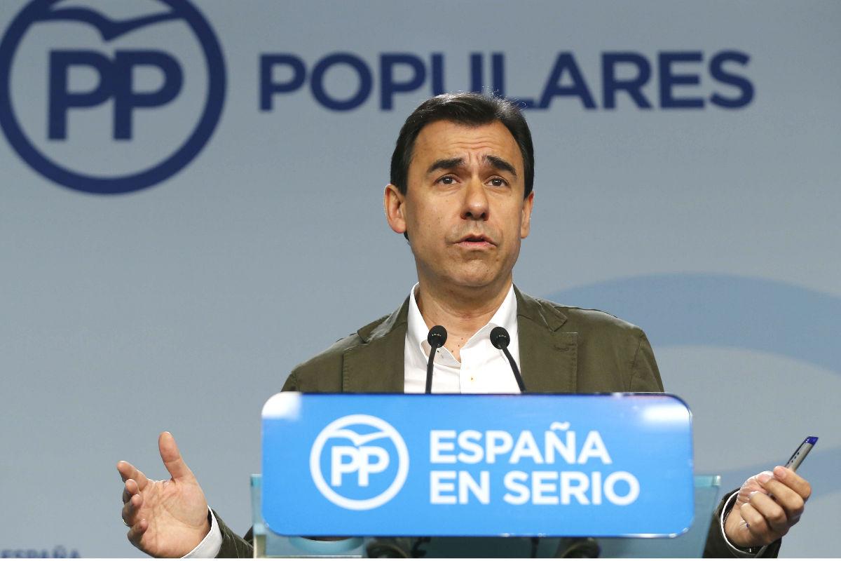 El vicesecretario de Organización del Partido Popular, Fernando Martínez-Maíllo. (Foto: EFE)